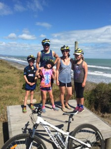 Biking the Motu trail - Eastern Bay of Plenty.