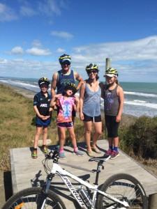 Biking the Motu trail - Eastern Bay of Plenty.
